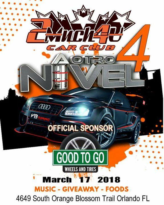 A Otro Nivel Car Show At Good To Go Wheels And Tires Orlando - Car show orlando fl