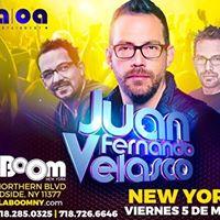 Juan Fernando Velasco en New York