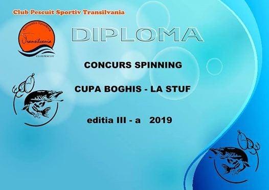 Concurs de Spinning editia a III-a Pescaria Boghis La Stuf