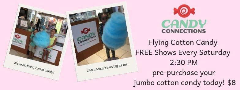 Flying Cotton Candy