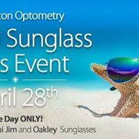 Spring Sunglass Sales Event