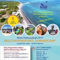 MKB 2017 Watersports Summercamp for Kids (Aug 7 - 11)