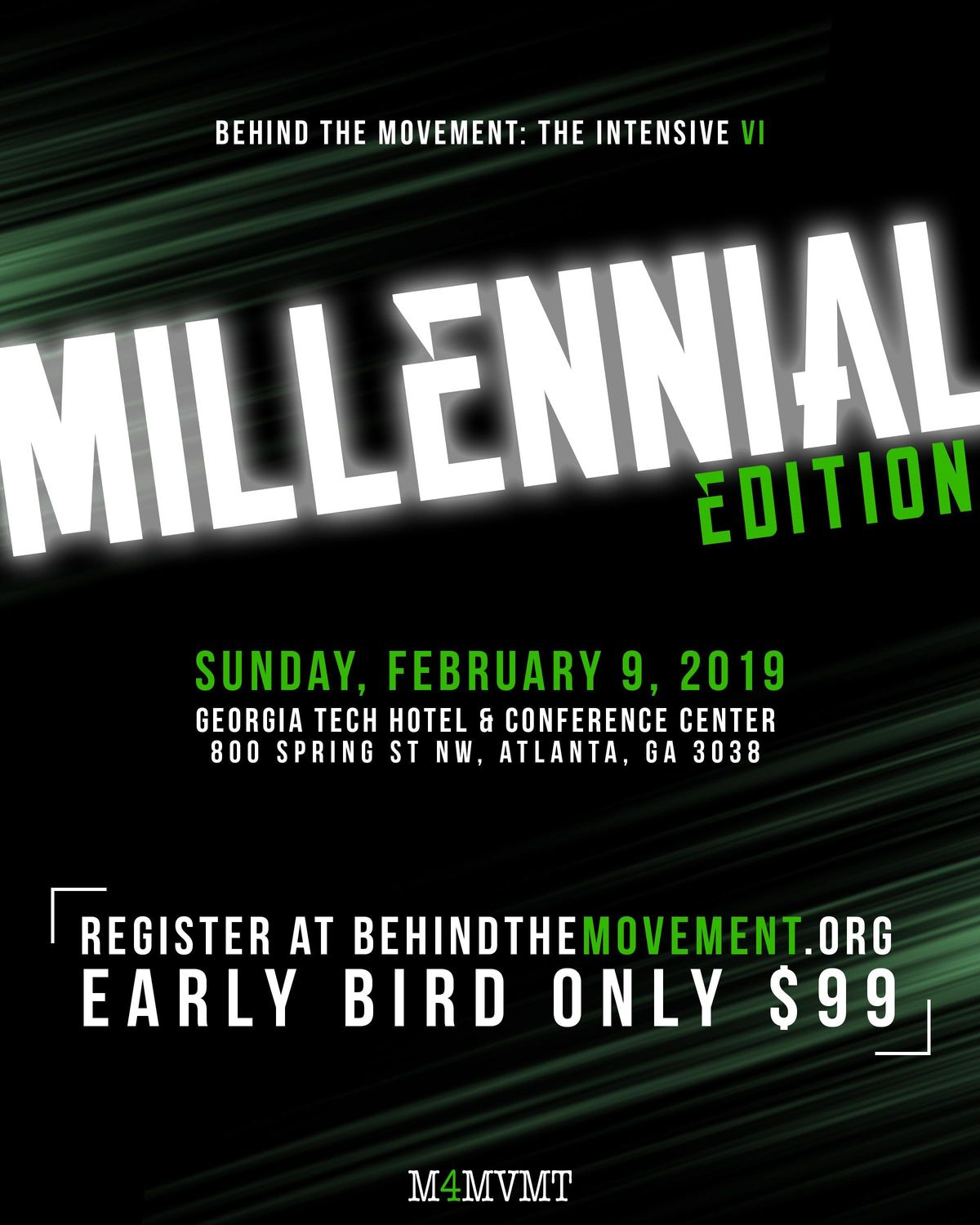 Behind The Movement The Intensive Part VI Millennial Edition