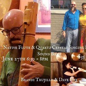 Native Flute & Quartz Crystal Singing Bowl Sound Bath