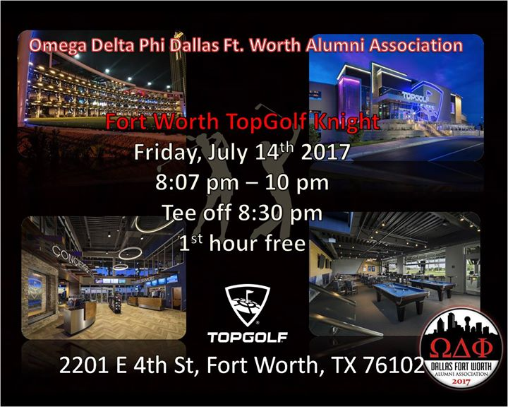 Fort Worth Topgolf Knight Fort Worth