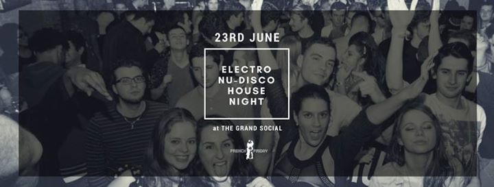 FREE - Electro  Nu-disco  House Night