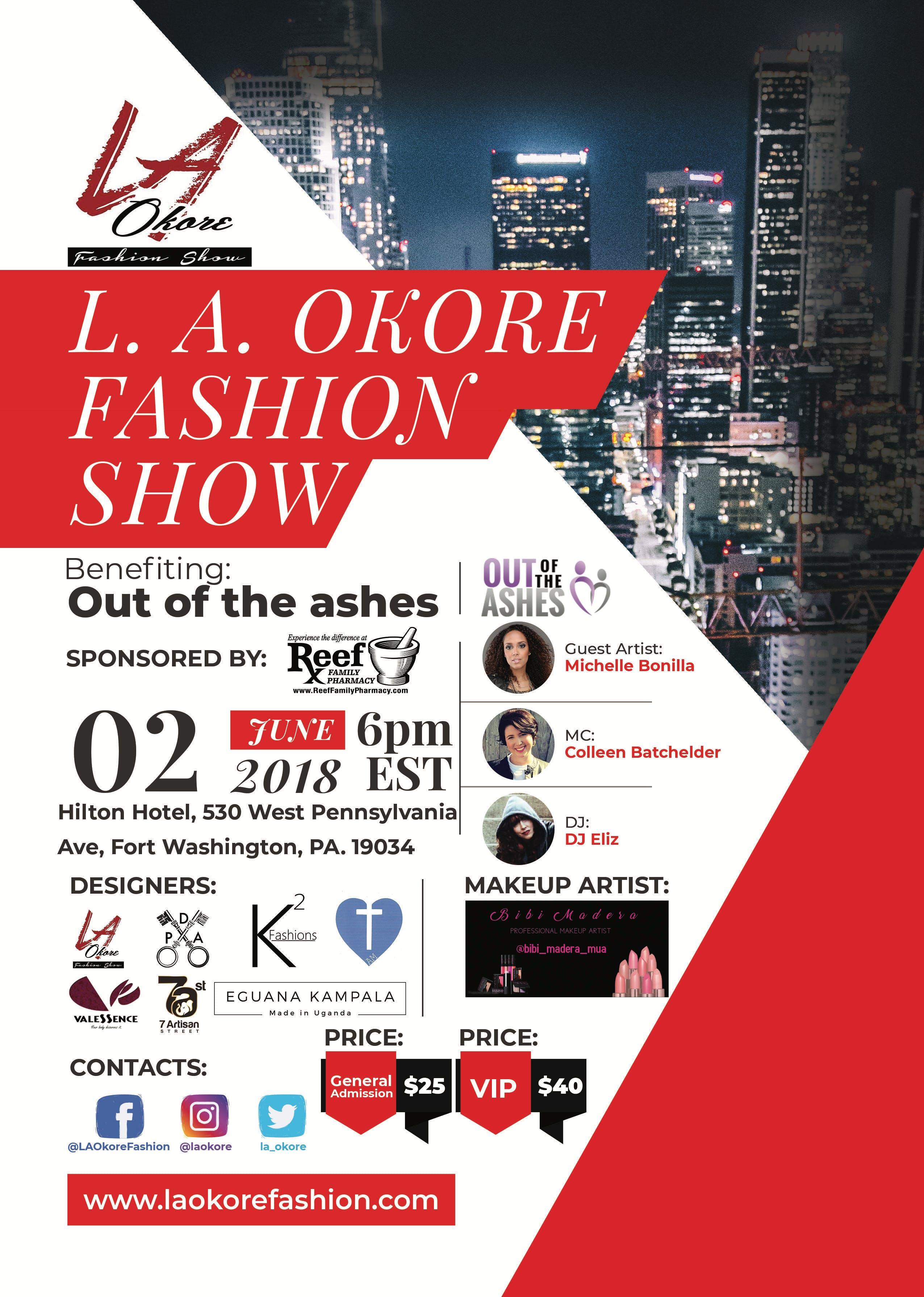 L.A.Okore 4th Annual Charity Fashion Show