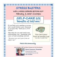 Stress Busters Benefits of Self Care Workshop