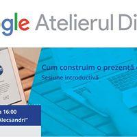 Atelierul Digital Google - Universitatea Vasile Alecsandri