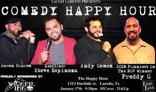 First Comedy Happy Hour Showcase of 2019