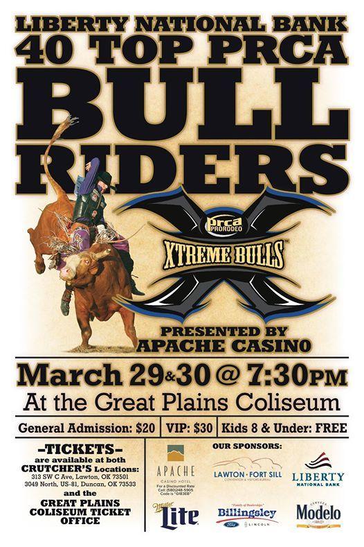 PRCA Extreme Bulls! @ Comanche County Fairgrounds