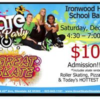 Great Skate - IHS Band Fundraiser Skate Party