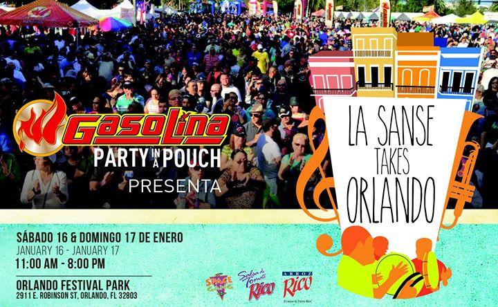 La Sanse Takes Orlando At Orlando Festival Park Orlando