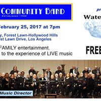Burbank Community Band presents &quotWater Music&quot - a Free Concert