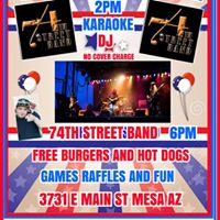 ROOSTERS 3RD ANNUAL ALL AMERICAN 4TH OF JULY BASH