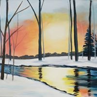 Open Paint Night - &quotWinterscape&quot - 20 Tuesdays