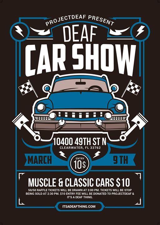 Car Show Supports - Deaf, Hard of Hearing & Deaf/Blind