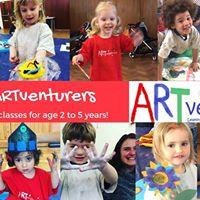 Little ARTventurers at Hobbycraft Coventry - Monday morning