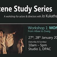 The Scene Study Series Workshop 1 Monologues