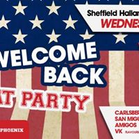 HALLAMNATION WELCOME BACK FRAT PARTY 18TH JANUARY 17