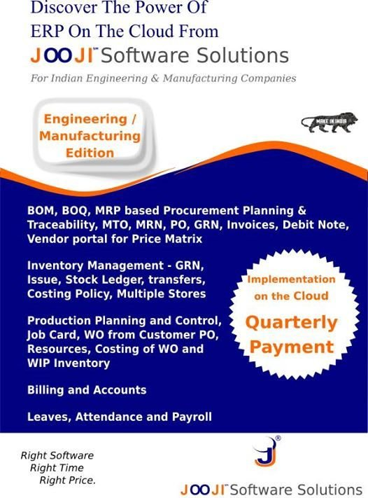 Software Solutions for Manufacturing Companies
