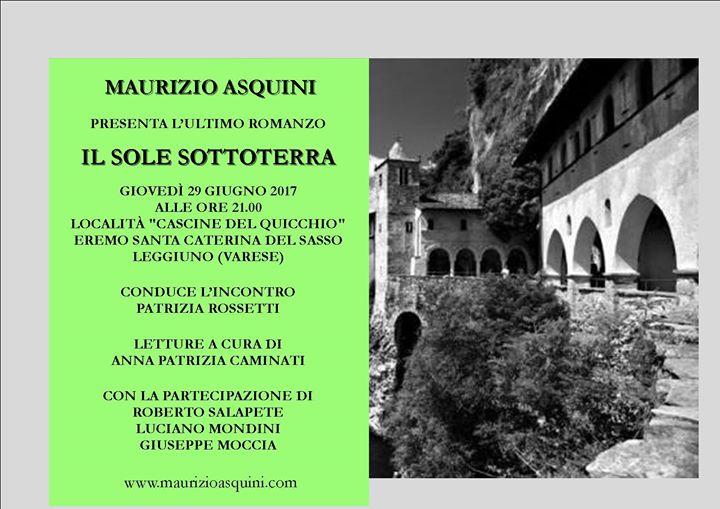 Incontro con lautore Maurizio Asquini