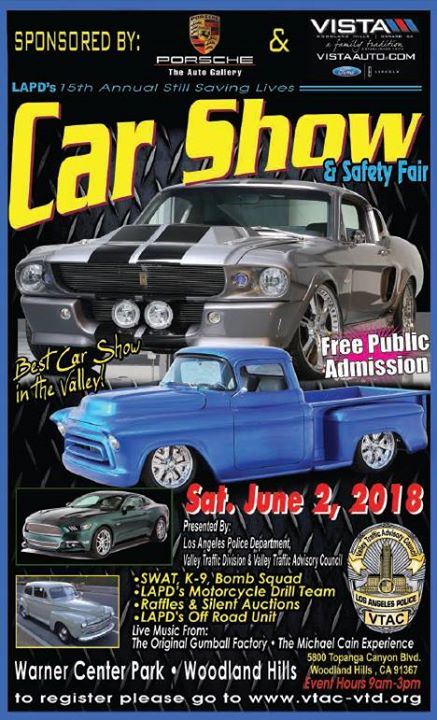 LAPDs 15th Annual Still Saving Lives Car Show at Warner