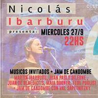 Nico Ibarburu presenta Casa Rodante y cierra con Candombe Jam
