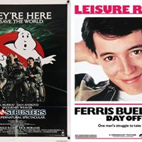 4 Ghostbusters &amp Ferris Buellers Day Off Double Feature