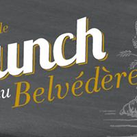 Le Brunch au Caf du Belvdre