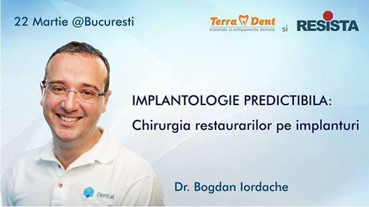 Implantologie predictibilaChirurgia restaurarilor pe implanturi
