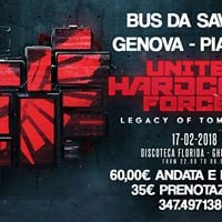Bus da Savona Genova e Piacenza per United Hardcore Forces