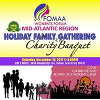 FOMAA Mid-Atlantic Region Womens Forum Holiday Family Event