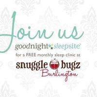 NestledSnuggle Bugz Sleep Clinic - 1st Wednesday of Every Month