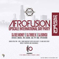 Upscale Afrofusion International Day Party