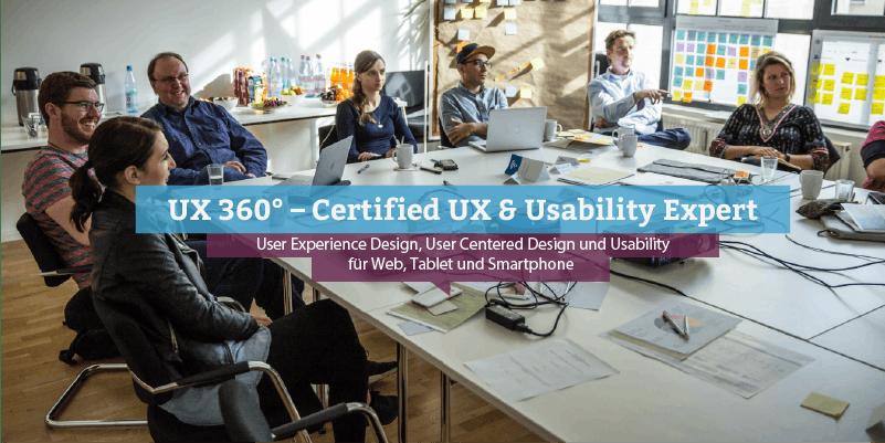 UX 360  Certified UX & Usability Expert Hamburg
