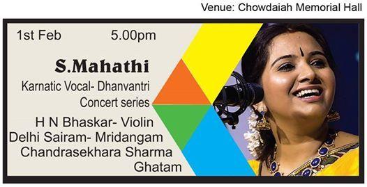 S Mahathi (Dhanvantri-Vocal)