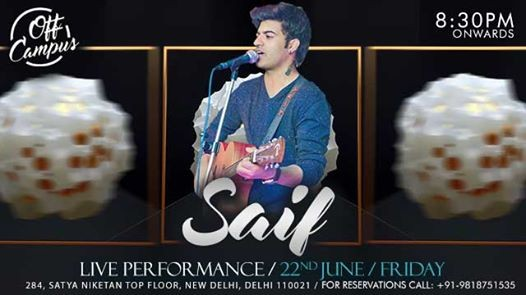 Friday Night LIVE with Saif