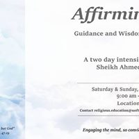 Affirming Faith Guidance and Wisdom for Modern Times