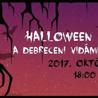 Halloween party a Vidmparkban 2017