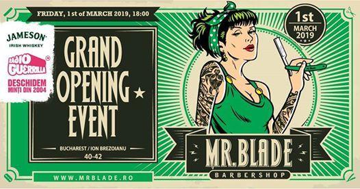 Mr. Blade Barber Shop Sala Palatului - Grand Opening