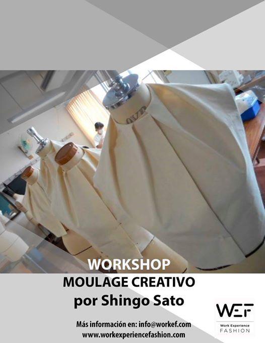 Workshop Moulage Creativo de Shingo Sato en Madrid