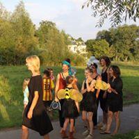 Theater locatie project in natuurtuin Wolfslaar