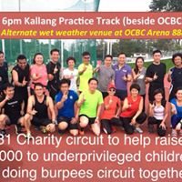 181 Charity circuit (bring your own water bottle)