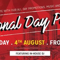 National Day Party 2017