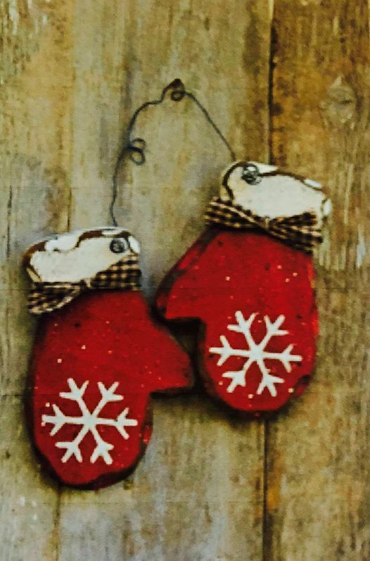 Paint  Learn Family Night - Mitts and Snowflakes