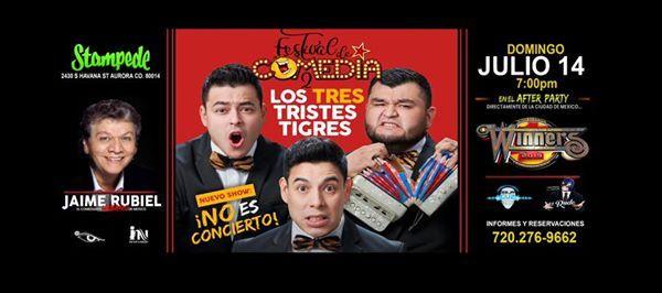 Festival De Comedia2 Los 3 Tristes TigresJaime Rubiel y mas