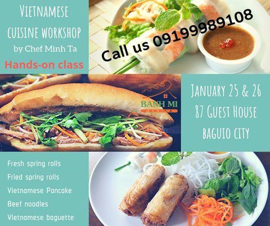 Vietnamese Cuisine Workshop