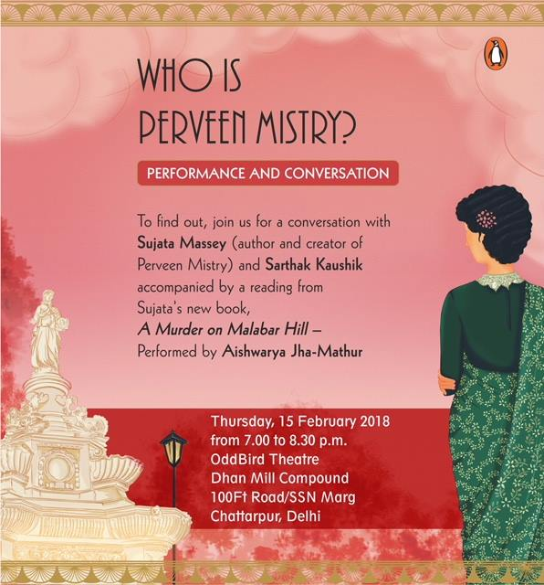 Book Launch A Mder on Malabar Hill