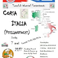 Zondag 7 mei - Corsa Italia Toerclub Woensel